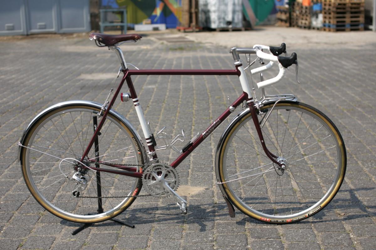 Meerglas Fahrradrahmenbau